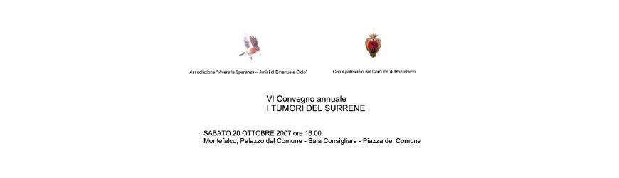 6° convegno annuale i tumori del surrene